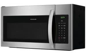 Frigidaire Microwave appliance trimmed