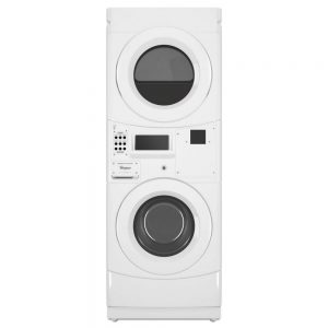 White whirlpool commercial laundry unit