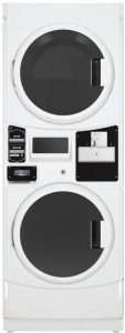 Maytag 27 Inch Commercial Electric Stacked Dryer
